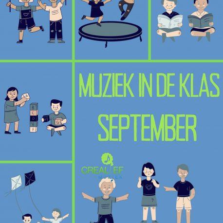 muziek in de klas September